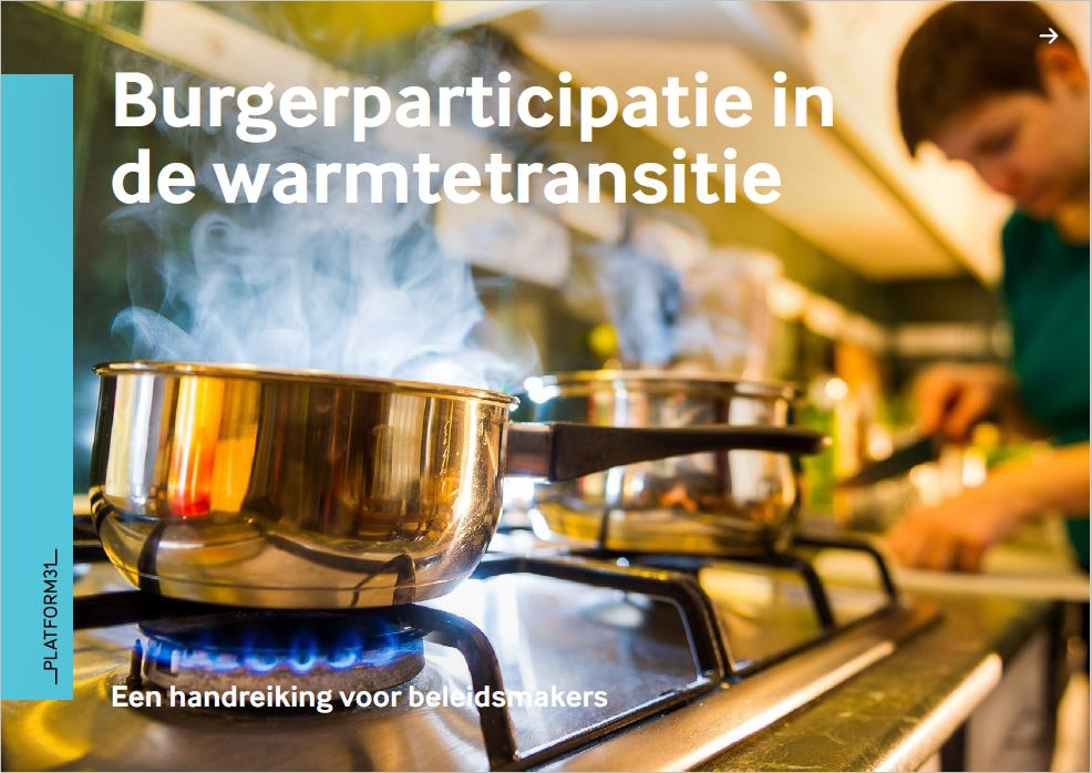 Cover burgerparticipatie in de warmtetransitie