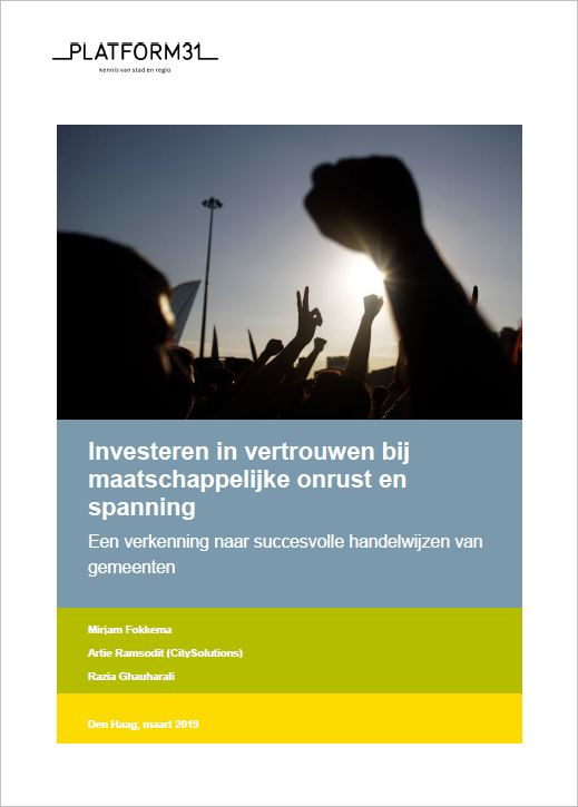 Cover investeren in vertrouwen