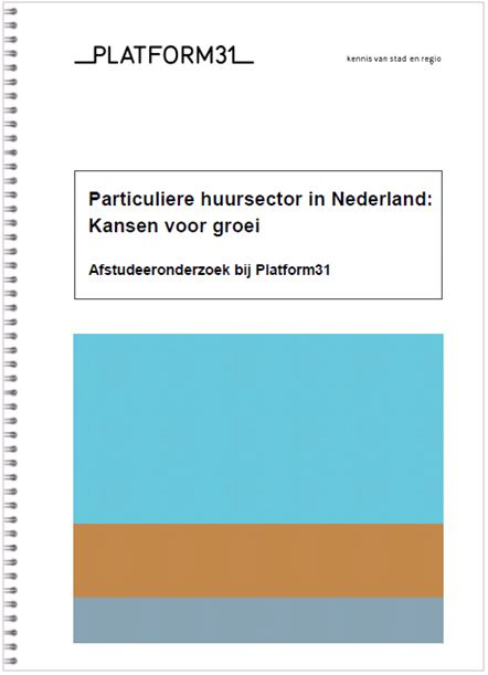 Cover particuliere huursector in nederland