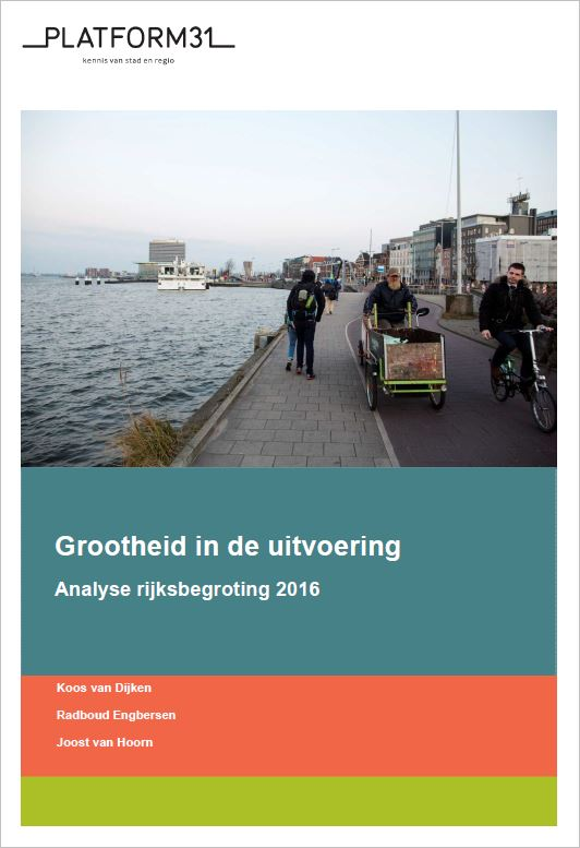 Analyse Rijksbegroting 2016 cover