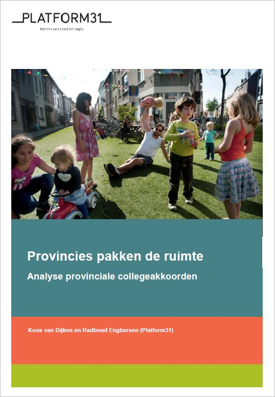 Provincies pakken de ruimte cover