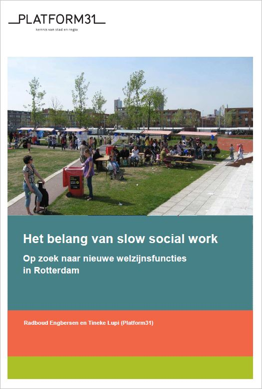 belang van slow social work cover